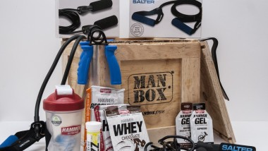 Manbox lanza un completo kit regalo de entrenamiento para hombre