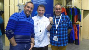 Martín Berasategui vuelve a mostrar su apoyo a la familia Ternua