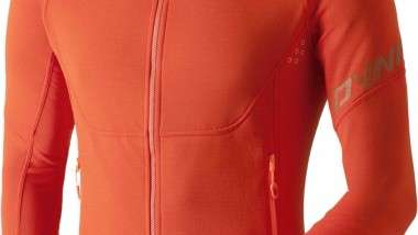 La combinación entre Dynafit y Polartec resulta en una chaqueta total de montaña