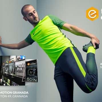 Futbol Emotion abre con Alejandro Gálvez una nueva tienda en Granada