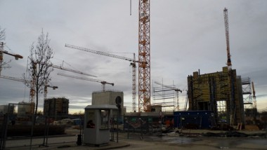 Las obras de ampliación de Messe München avanzan a buen ritmo