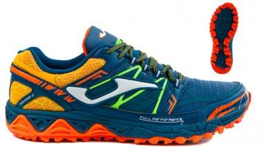 Amortiguación y protección en las nuevas zapatillas de Joma para trail