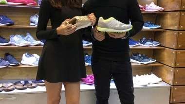 Los embajadores de B3D apoyaron a la firma en Momad Shoes
