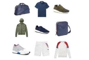 colección de prendas de le coq sportif