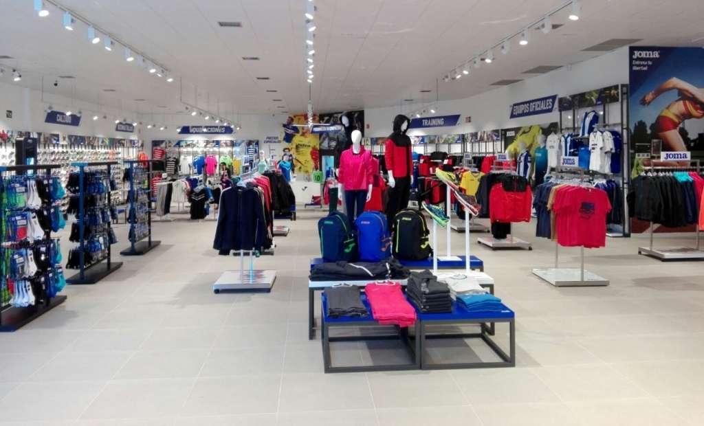 outlet Joma en Madrid, tiendas de deporte