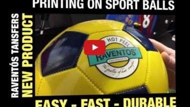 Raventós desarrolla el transfer serigráfico FHP para imprimir balones