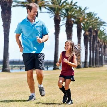 La condición física mejora a medida que aumenta el número de pasos
