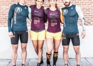 El equipo de Reebok a punto para la Spartan Race