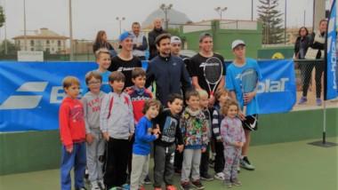 Semana de tenis junior con la Babolat Cup