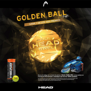Head, promociones, pádel, bolas, pelotas
