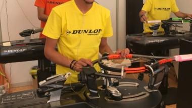 La nueva máquina de encordado de Dunlop se estrena oficialmente