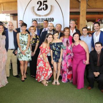 Emoción, amistad y sentimientos reinan en el 25 aniversario de Redipro