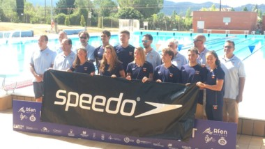 Speedo pone rumbo a Budapest con el equipo de natación español