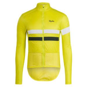 chaqueta técnica de ciclismo equipada con Polartec Alpha