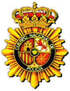 escudo cuerpo nacional de policia
