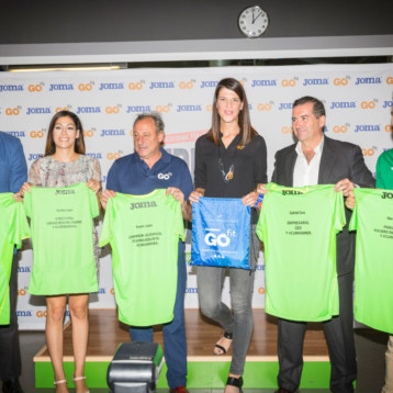 Joma se asocia con Go Fit en beneficio del running