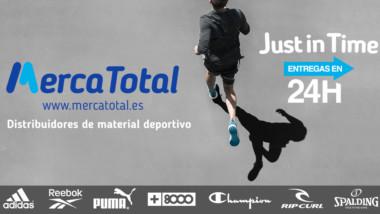 Mercatotal reivindica su larga experiencia como distribuidor de material deportivo