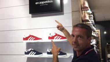 Nº1 en Zapatillas abre en Sevilla bajo el paraguas de Cristobal Soria
