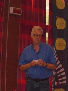 Mark Held, secretario del Grupo Europeo de Outdoor