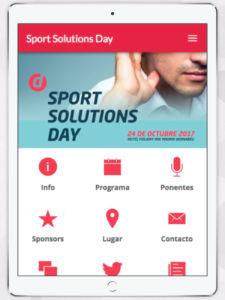 Sport Solutions Day aplicación Apptivar.me