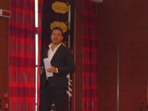 Tommaso Bruso, director de Operaciones de Benetton, en la European Outdoor Summit