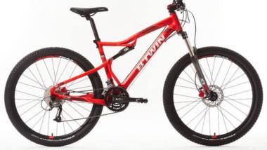 Decathlon alerta sobre una deficiencia en una de sus bicicletas