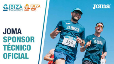 Joma repite como patrocinador oficial del Ibiza Maratón e Ibiza 12K