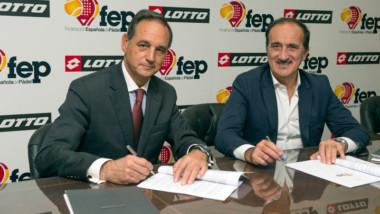 Acuerdo de patrocinio entre Lotto y la Federación Española de Pádel