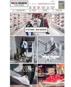web Wanna Sneakers, Base Detallsport, tiendas de deporte y sneakers