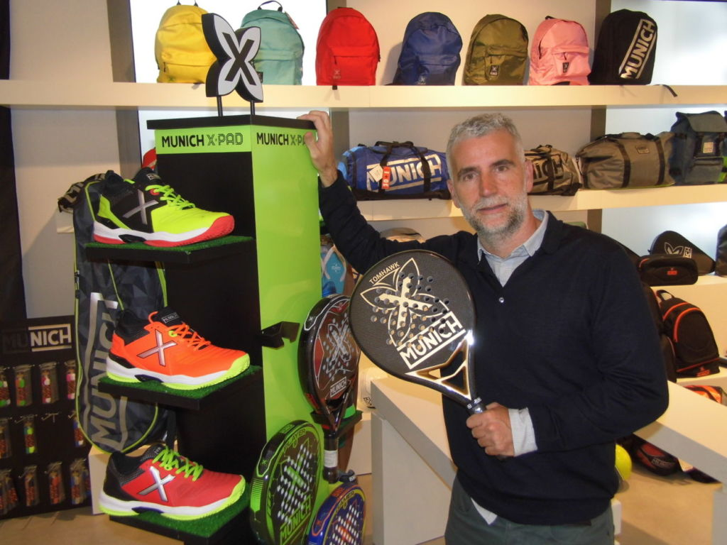Pepe Espino, sport category manager de Munich