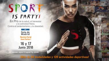 Sport is Party!, nueva feria del deporte para la promoción de la actividad