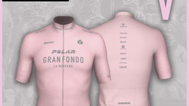 Polar presenta el maillot de la quinta Gran Fondo La Mussara