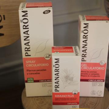 Pranarom propone productos naturales frente a las dolencias del deportista