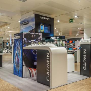 Garmin se estrena en retail con un espacio en El Corte inglés