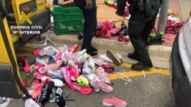 Intervenidas en Logroño falsificaciones por valor de más de 75.000 euros