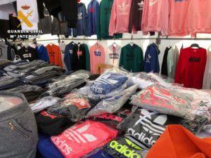 intervenidas falsificaciones en mercadillo de Logroño por parte de la Guardia Civil