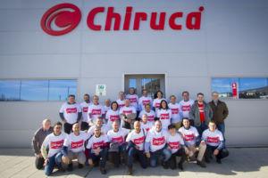 convención comercial de calzado Chiruca