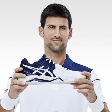 Asics suma a Djokovic a su equipo de embajadores