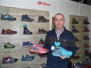 Fernando Castiella director comercial de Chiruca en convención Base-Detallsport tiendas de deporte