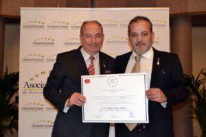 Chiruca recibe la Medalla de Oro al Mérito en el Trabajo