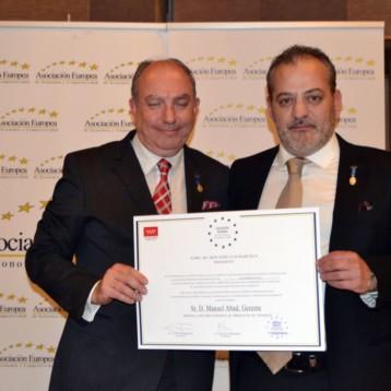 Medalla de Oro al Mérito en el Trabajo para Chiruca