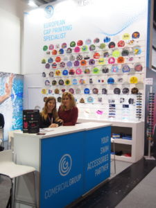 stand de Comercial Group en Ispo Munich