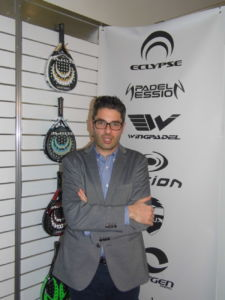 Pedro Martínez director general de Padel Nuestro en Ispo Munich