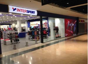 tienda de deportes de Intersport