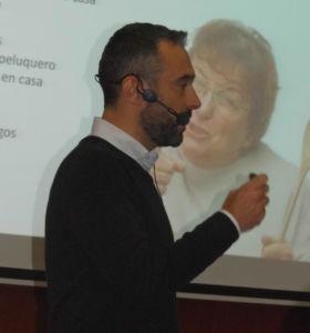 Melcior de Palau en su intervención en la sesión de Escodi sobre Tecnología, Retail y Omnicanalidad