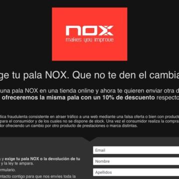 """Nox planta cara al """"phishing"""" con una promoción"""