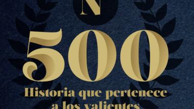 Gracias por compartir con nosotros 500 números