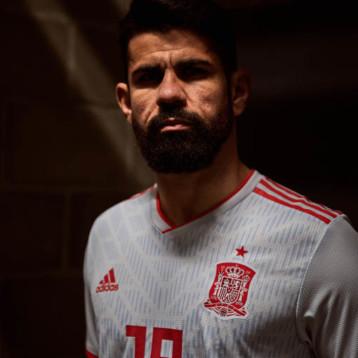 Adidas descubre el segundo uniforme de España para el Mundial de Rusia