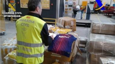 La Agencia Tributaria intervino más de 3 millones de productos falsificados