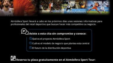 Atmósfera Sport organiza un tour de sesiones para dar a conocer su proyecto